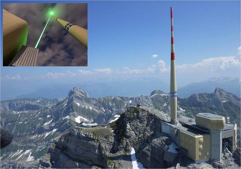 Para-raios a laser prestes a se tornar realidade